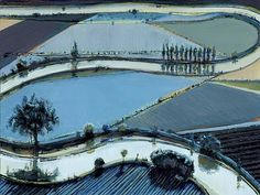 gallery thiebaud landscape | wayne thiebaud one of my all time favorite artists
