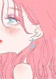 Aesthetic Art, Aesthetic Anime, Japon Illustration, Cute Art Styles, Kawaii Art, Anime Art Girl, Anime Girl Pink, Manga Girl, Anime Girls