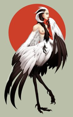 Monster Girl Challenge: Harpy by TravJames on deviantART