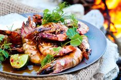 Try this summer barbecue recipe of chilli soy prawns with ponzu aioli.