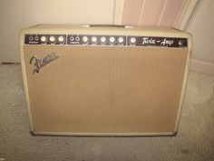 1963 Fender Twin Amp > Amps & Preamps   Gbase.com