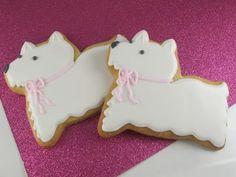 Scottie dog cookies- so cute.  Must make them in dark chocolate in honor of Duncan