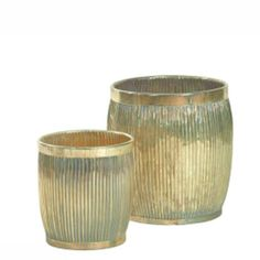 Set of 2 Ridged Urns, available at Browsers, Limerick, Ireland and online at www.browsers.ie