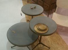 Chehoma Assiette Bronze Table Basse