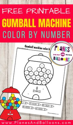 Easy color by number for preschool and kindergarten - free printable number recognition worksheets. Learning Numbers Preschool, Math Activities For Kids, Preschool Colors, Preschool Printables, Fun Learning, Kindergarten Worksheets, Preschool Prep, Counting Activities, Color Activities