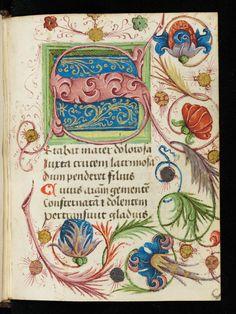 Cologny, Фонд Мартина Бодмера, треска Бодмер 19, с.  45r - псевдо-Бернарда из Клерво