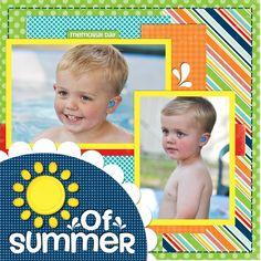 First Splash of Summer - Scrapbook.com
