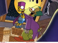 Programa De TV Os Simpsos  Bart Simpson Krusty The Clown Papel de Parede