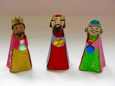 A Patchwork Life: We Three Kings.... #makeanativity