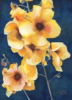 Yellow Flowers - © Ken Powers  http://www.powersfineart.com/