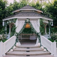 Disneyland Wedding Spotlight: Mylene and Gary Wedding Knot, Wedding Ceremony, Wedding Venues, Dream Wedding, Wedding Gazebo, 1920s Wedding, Wedding Ideas, Perfect Wedding, Wedding Stuff