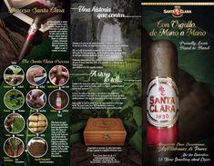 Santa Clara brochure Santa Clara, Premium Brands, Little Plants, Family Traditions, Social Networks, Cigars, The Cure, Product Launch, Santos