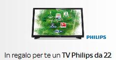 Sky Regala un TV Philips da 22 pollici a chi si abbona online