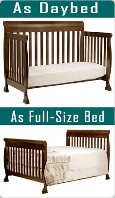 You can use this crib as a daybed or a full-size bed. It may your lifetime product. View more #Cribs at http://thebabywiki.com/