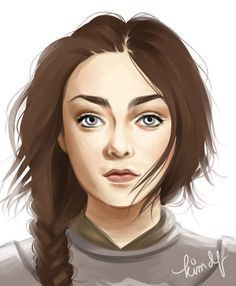 Grown up Arya Stark - Game of Thrones Valar Dohaeris, Valar Morghulis, Winter Is Here, Winter Is Coming, The North Remembers, Game Of Thrones Fans, Arya Stark, Fire And Ice, Female Characters