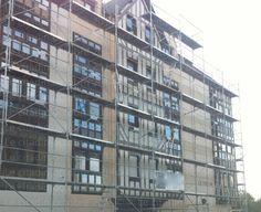 Continuité des rénovations de bâtiments Bernayen...
