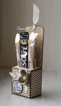 Verpackung für Amicelli und Kaffee-Sticks - Idee