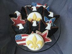 Eagle Scout sugar cookies