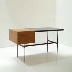 :: Pierre Paulin CM141 Desk designed in 1953 for Thonet, France ::