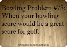 #Bowling Problems