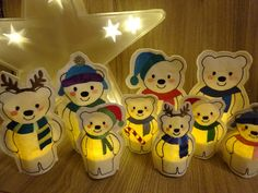 ***Instand Download***  *** This is a digital file for machine embroidery - This is NOT a finished / physical product!***  ITH - In The Hoop - Ice bears for tealight covers for 5x7hoop and 4x4 hoop. Only for the use with LED / flameless tealights - NOT for real tealights.  You will get a zip-file, including a kit of 18 (9 bears per size) small and big polar bears (boys and girls) and a pdf file with instructions  This ITH file is made in only one hooping for each cover. You need an ...