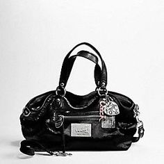 COACH - Poppy sequins rocker satchel in Black  398.00 Coach Outlet Store aae5046b5aac0