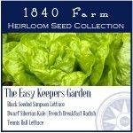 The Easy Keepers Garden Heirloom Seed Collection