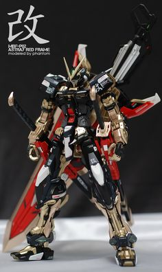 [queen_cos_shop] PHANTOM's AMAZING MG 1/100 Gundam Astray Red Frame Kai: Full Photo Review http://www.gunjap.net/site/?p=302138