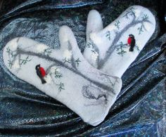 could do embroidered bird, freehand branches...Hmmmm....