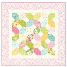 The Pattern Basket: Free Patterns! Table Topper, Table Runner, and Quilt sizes
