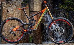 Pro Bike Check: Brendan Fairclough's Rampage Scott G. Cycling Art, Cycling Bikes, Cycling Quotes, Cycling Jerseys, Road Bikes, Mountain Bike Reviews, Mountain Biking, Scott Bikes, Mt Bike