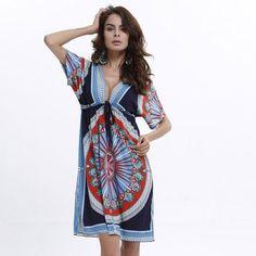 Peace Boho V-Neck Dress. Sexy Summer DressesBeach ... a51451e3eef0