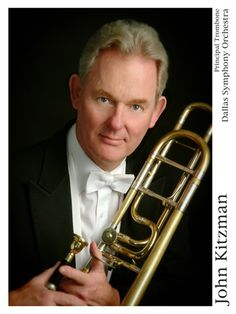 John Kitzman, Principal Trombone of the Dallas Symphony Orchestra