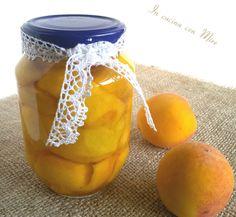 #gialloblogs #ricetta #foodporn Pesche sciroppate-ricetta casareccia | In cucina con Mire