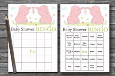 60 pink Elephant baby shower bingo,elephant Bingo Cards, jungle baby shower Bingo Card ,Printable Blank & PreFilled Cards, BG-194 Baby Bingo, Baby Shower Bingo, Baby Shower Printables, Star Baby Showers, Elephant Baby Showers, Pink Elephant, Blank Bingo Cards, Rubber Ducky Baby Shower, Baby Towel
