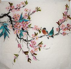 Chinese Painting: Birds&Flowers - Chinese Painting CNAG235381 - Artisoo.com