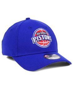 promo code 57f7f 23ec3 New Era Detroit Pistons Team Classic 39THIRTY Cap - Blue S M