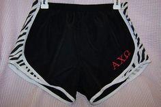 axo running shorts!