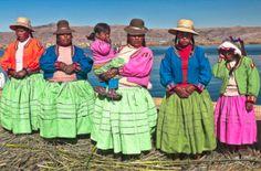 Uros Women of Peru
