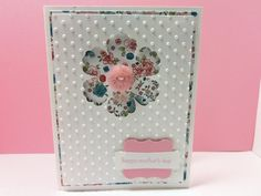 Stampin' Up Handmade Embossed Mother's Day Card by donnainksLa, $4.00