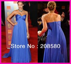 royal blue gowns red carpet - Google Search Royal Blue Party Dress, Royal Blue Gown, Royal Blue Dresses, Hoco Dresses, Strapless Dress Formal, Formal Dresses, Maternity Wear, Maternity Fashion, Im So Fancy