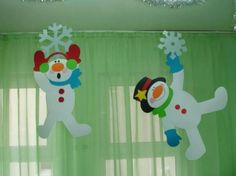 Wall for 2017, Window Decorations and Mobiles