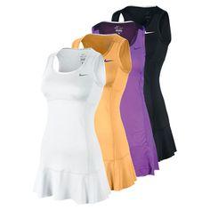 NIKE WOMENS HEATHERED V NECK TENNIS DRESS - Favorite tennis dress ...