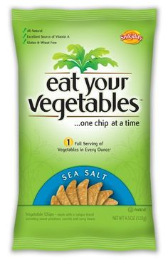 Eat Your Vegetables Sea Salt Veggie Chips 45Ounce Pack of 6 *** Check this awesome product by going to the link at the image.Note:It is affiliate link to Amazon.