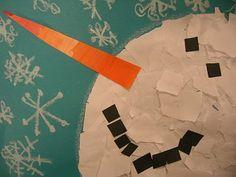 snowman art!