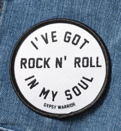 Rock n' Roll patch from Gypsy Warrior