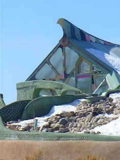Earthship house, Taos