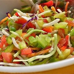 Picnic Marinated Summer Slaw
