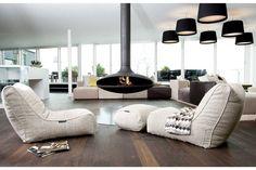 Evolution Sofa Bean Bag in Eco Weave (Indoor)