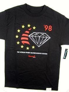 Diamond Supply Co Hardware black tee shirt men's skate size MEDIUM #DiamondSupplyCo #GraphicTee